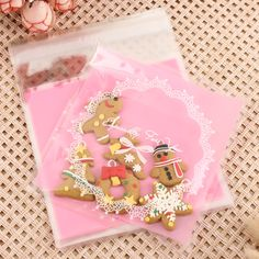 100pcs-10-10cm-Cello-Cookies-Candy-Bags-Sweet-Party-Gift-Christmas-Xmas-Santa