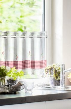 Küchengardinen / Scheibengardinen günstig kaufen • Gardinen Outlet ...