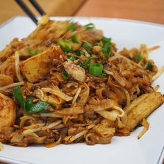 "Excellent plate of char kway teow here... Good ""wok air"""