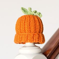 The Cutest Baby Pumpkin Hat Ever | AllFreeHolidayCrafts.com