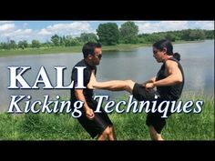 Powerful KICKING Techniques of KALI - Filipino Martial Arts Fight Techniques, Martial Arts Techniques, Self Defense Techniques, Martial Arts Workout, Martial Arts Training, Kali Martial Art, Kali Sticks, Kali Escrima, Karate Kata