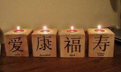 Create a romantic atmosphere with #Asian fortune #candles - #diy #inspirations #homedecor. http://www.1-2-do.com/de/projekt/Teelichtwuerfel/bastelanleitung/4909/