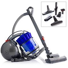 Dyson DC39 Multi-Floor Canister Vacuum with Accessories - Blue at HSN.com I got it!