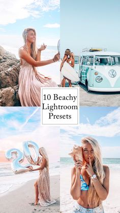10 Lightroom presets to give you that perfect beachy vibe! Lightroom Presets, Tulum, Travel Tips, Travel Advice, Romper