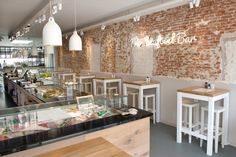 #seafoodbar #amsterdam #fish #design #dehorecafabriek #restaurant #fastfood #interior