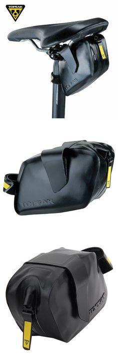 Bike Bags   TOPEAK TC2293B 0.8L Water Resistant Bicycle Saddle Bag
