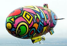 love this blimp, very picasso