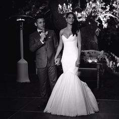 Love love love her wedding dress! Gorgeous! Denise Vasi of Single Ladies TV Show