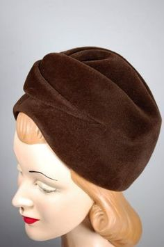 Blocked turban.