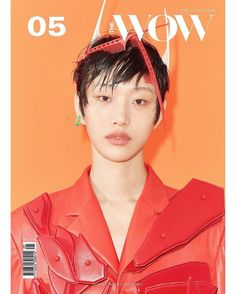 Sora Choi, Alas Marcus Piggott, Red Design, Monica Bellucci, Korean Model, Bold Prints, Wow Products, Album Covers, Fashion Forward