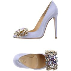 Gedebe Court (485 CAD) ❤ liked on Polyvore featuring shoes, pumps, lilac, stiletto heel shoes, stiletto heel pumps, stiletto high heel shoes, animal shoes and heels stilettos