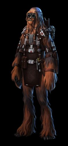 SWTOR Smuggler companion Bowdaar. I heart him.
