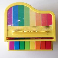 Image of Grand Piano Fisher Price Vintage