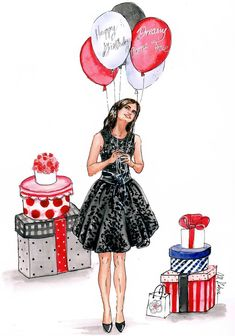 Birthday Ecards for Females Happy Birthday Doll, Happy Birthday Drawings, Happy Birthday Ecard, Happy Birthday Wishes Cards, Happy Birthday Images, Birthday Pictures, 21 Birthday, Sister Birthday, Birthday Fashion