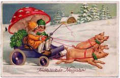 Early part of the 20th century - German postcard.