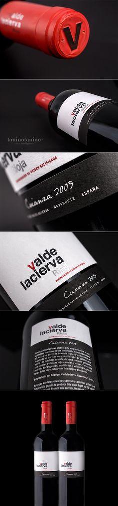 VALDELACIERVA 2009 HISPANO BODEGAS - TANINOTANINO VINOS INTELIGENTES Photo by #winebrandingdesign