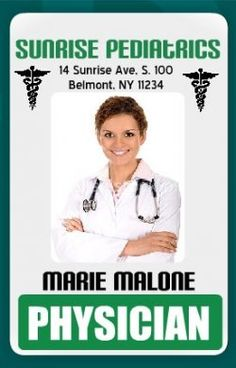 medical alert card template - id cards online on pinterest badges card templates and