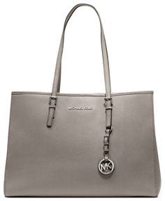 MICHAEL Michael Kors Handbag, Jet Set Travel East West Tote - Michael Kors Handbags - Handbags & Accessories - Macy's