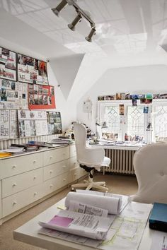 White home office | Daily Dream Decor