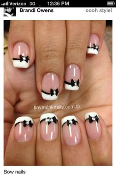 Not your average French manicure:)