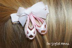 Ballet Shoes Ribbon Sculptures Hair Bows Tutorials