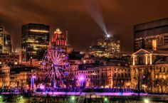Montreal, Canada. Festival time.