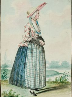 I've been interested in working class dress lately.And more specifically 18th century maids costumes. searching the net I've found lots of pics of pretty outfits and great pattern mixi…