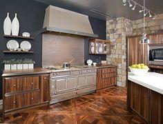 My absolute DREAM kitchen range - La Cornue kitchen4.  This home cooks dream!
