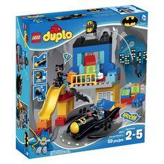 LEGO Duplo 10545 Batman Batcave Adventure DC Comics Catwoman for sale online Lego Duplo, Lego Dc, Batman Et Catwoman, Batman Batcave, Lego Batman, Spiderman, Dc Comics, 4 Year Old Boy, Buy Lego