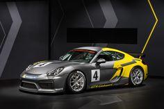 New Porsche Cayman GT4 Clubsport - http://www.modifiedcars.com/556154