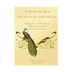 peacock invitations | Category Archives: Peacocks