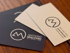 personal logo (anthony macchio) #Logo #CurrentObsession |Pinned from PinTo for iPad|