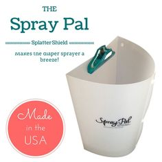 This product will come in handy for cloth diapering mom and dads who have a diaper sprayer.