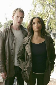 Rupert Penry-Jones and Rochelle Aytes in The Forgotten.