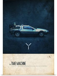 """""""Where we're going, we don't need roads"""" Grab this Back To The Future print today! #CoolHunter #Greatgift"""