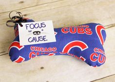 Chicago Cubs Dog Toy or YOU PICK the TEAM Dog Squeaky Toy, Dog Toy, Dog Bone, Squeaky Toy, Sports, Baseball, Football, College by…