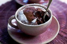 zapečená čokolada je super rychla a mozno ju priprait pred prichodom navstevy a upiect na cerstvo - tva to cca 10 min.... perfekt