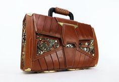 """Steampunk Briefcase """"Gwanggeto"""" Created by Yun Yeochang"""