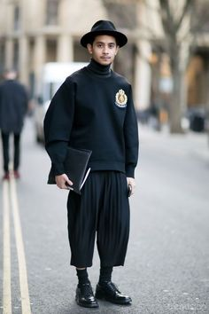 Street Style : London Street Style 2015