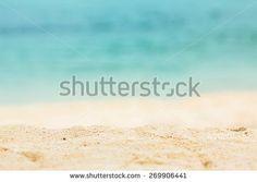 Nature beautiful Sand beach background. - stock photo