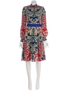 VERSACE Pattern dress