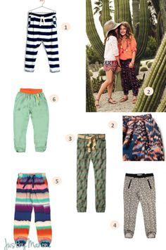 Dia3geprinte broeken voor meiden