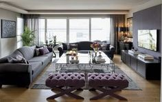 four&more projects, interior design, home decor, living room decoration sejour Diy Living Room Decor, Funky Home Decor, Rooms Home Decor, Living Room Grey, Home Decor Styles, Diy Home Decor, Bedroom Decor, Grey Furniture, Feng Shui
