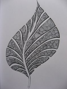 Leaf.  Like the concept for other shapes also.  Good use of negative space to define the form.