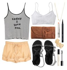 """""""Today I love you"""" by sophiehackett ❤ liked on Polyvore featuring MANGO, Jennifer Zeuner, Emili, A.L.C., Abercrombie & Fitch, Topshop, Make, H&M and Bobbi Brown Cosmetics"""
