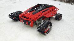 https://flic.kr/p/CuB23K | concept arctic racer. | www.eurobricks.com/forum/index.php?showtopic=119458