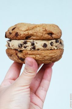 Browned Butter Chocolate Chip Cookie Sandwiches