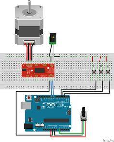 Beispiel 5 Diagramm www. - proyectos de electronica Example 5 diagram www.c… Beispiel 5 Diagramm www. Schrittmotor Arduino, Arduino Bluetooth, Electronic Circuit Projects, Electronics Projects, Diy Electronics, Engineering Technology, Electronic Engineering, Arduino Stepper Motor Control, Radios