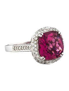 5.92ctw Tourmaline & Diamond Ring