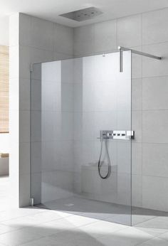 KERMI Kermi Walk-In XS Duschwand WALL mit Wandstütze und Wandbeschlag